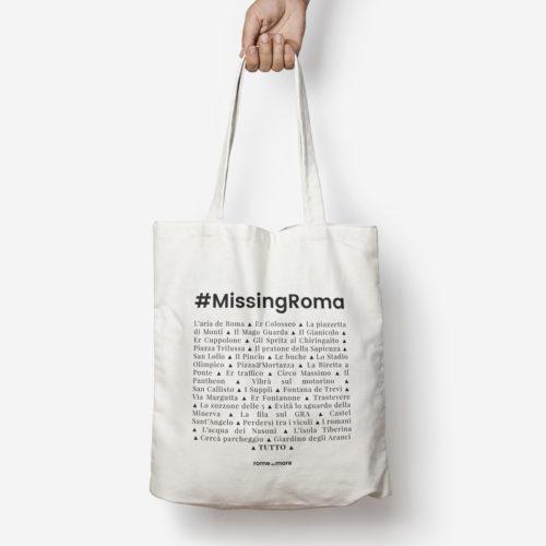 Tote bag 'MissingRoma'