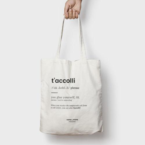 Tote bag 'T'Accolli'
