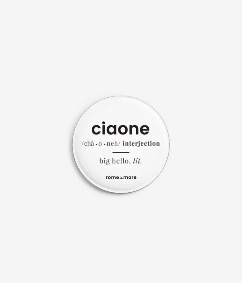 Spilla 'Ciaone'