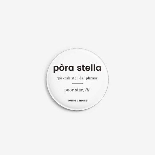 Spilla 'Pòra Stella'