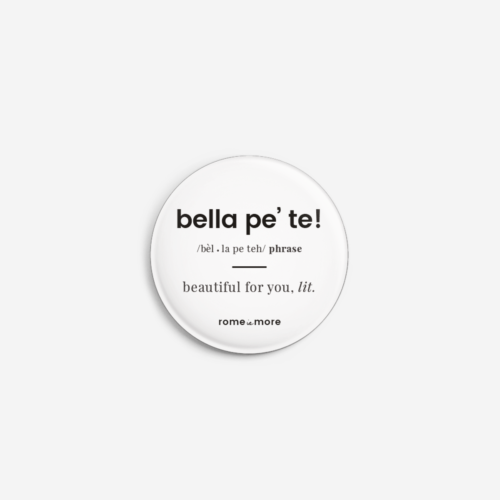 Spilla 'Bella Pe' Te'