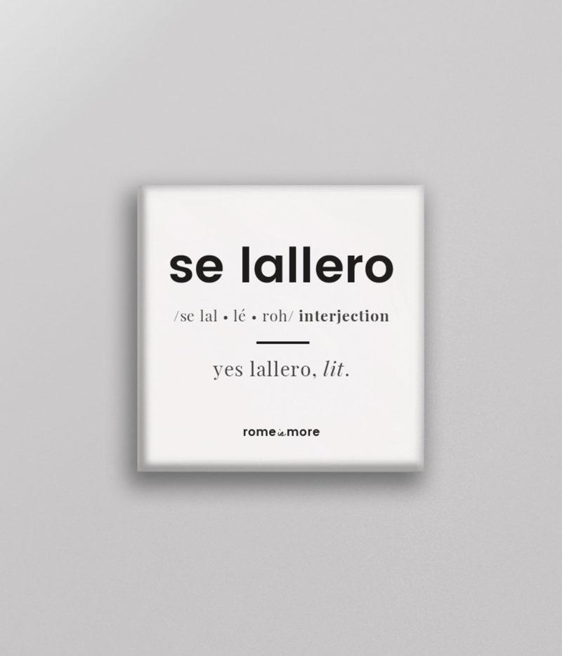 Calamita 'Se Lallero'