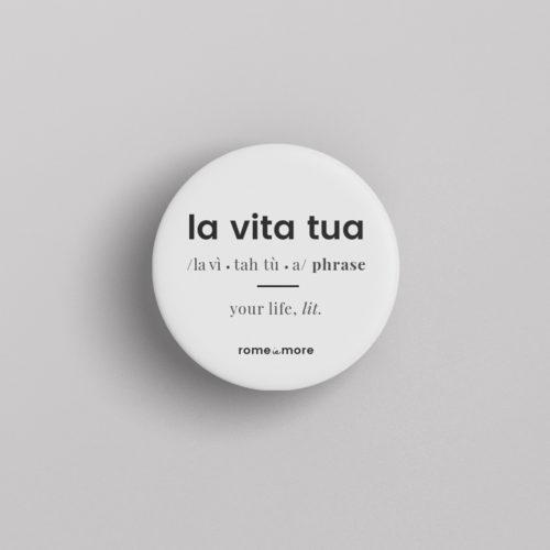 Spilla 'La Vita Tua'