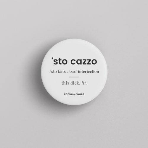 Spilla 'Sto Cazzo'