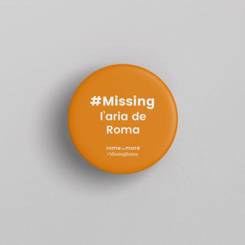 Spilla #MissingRoma 'Aria de Roma'