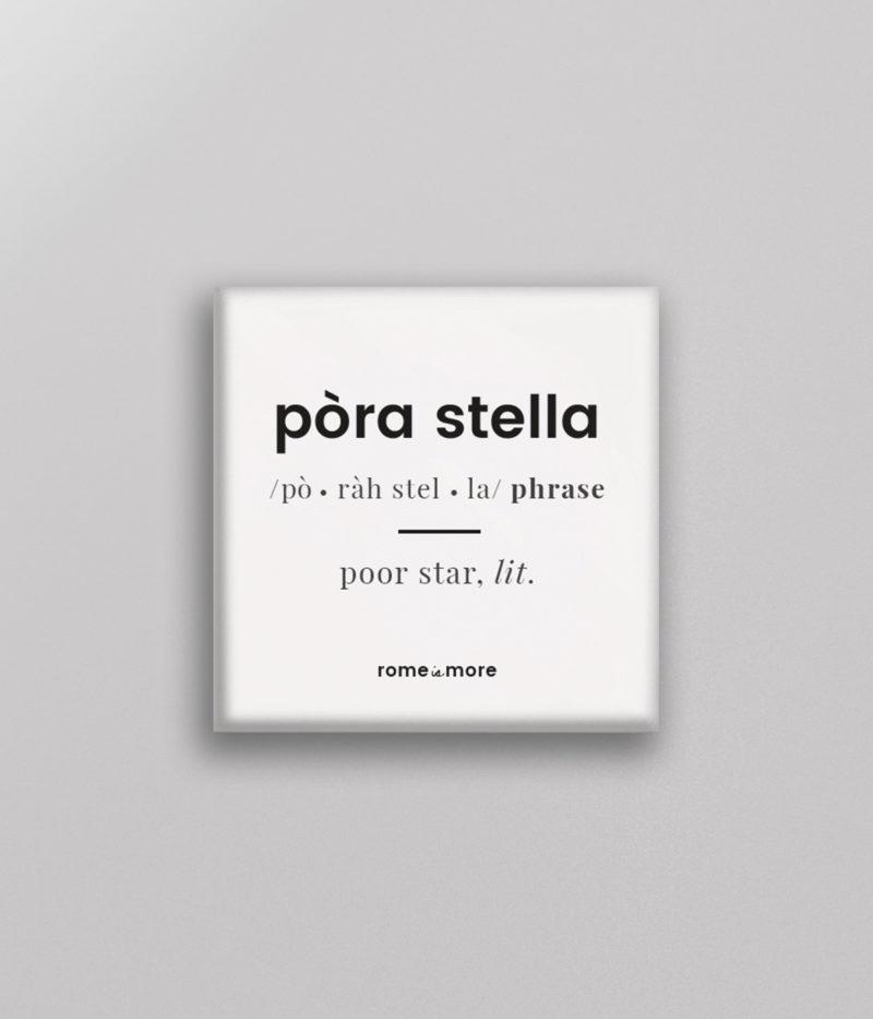 Calamita 'Pòra Stella'