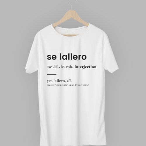 T-Shirt 'Se Lallero'