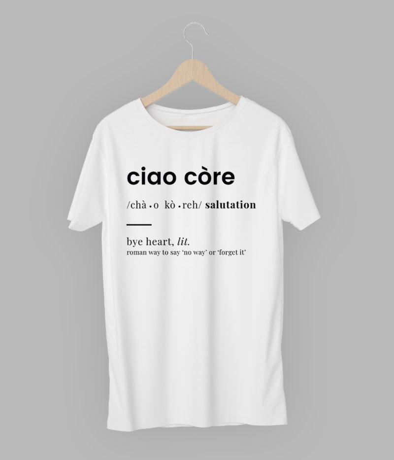 T-Shirt 'Ciao Còre'