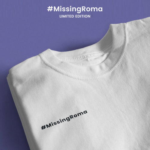T-Shirt 'MissingRoma' Limited Edition