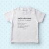 Magliettina baby 'Bello de casa'