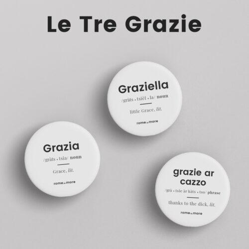 Set Spille 'Le Tre Grazie'