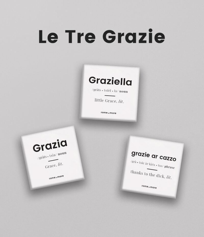 Set Calamite 'Le Tre Grazie'